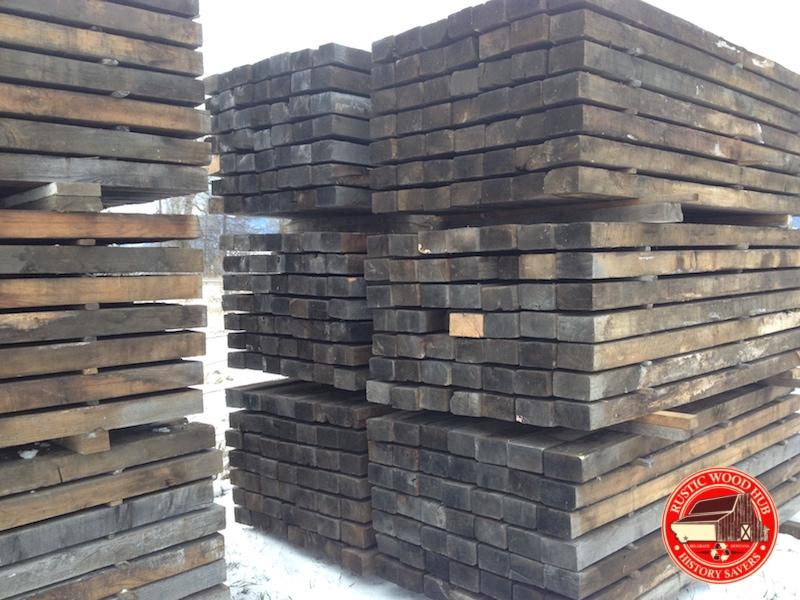 reclaimed 4x6 oak