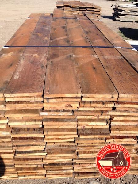 reclaimed fir roof sheathing
