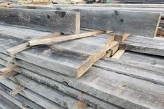 Rustic Wood Hub's 2x6 corral board