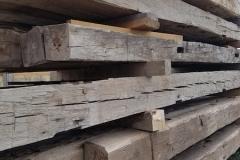 reclaimed hand hewn timbers