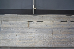 Reclaimed Wood Counter