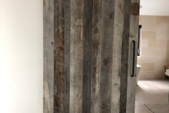 Corral Board Sliding Barn Door