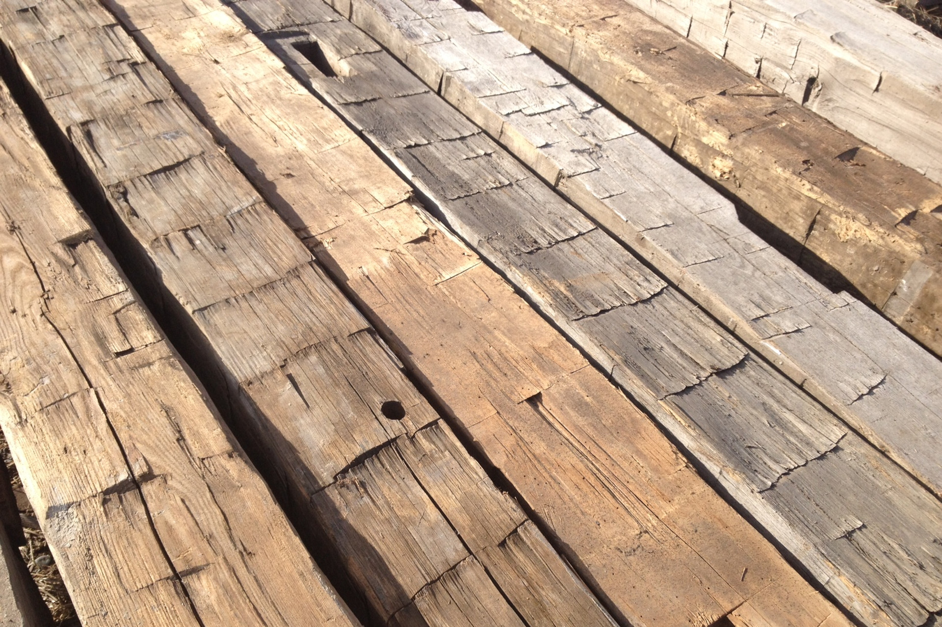 Reclaimed lumber hemlock reclaimed lumber thickness oak for Reclaimed wood decking